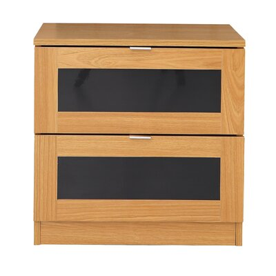 Home Etc Molly 2 Drawer Bedside Table