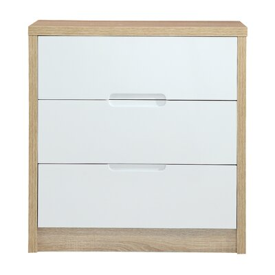 Home Etc Anna 3 Drawer Chest of Drawers