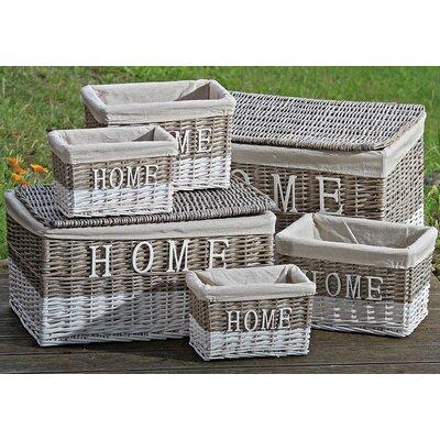 Home Etc Maison 6 Piece Basket Set