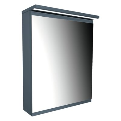 Home Etc 35 x 120cm Surface Mount Flat Mirror Cabinet
