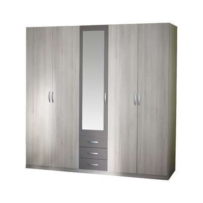 Home Etc Ruhla 5 Door Wardrobe