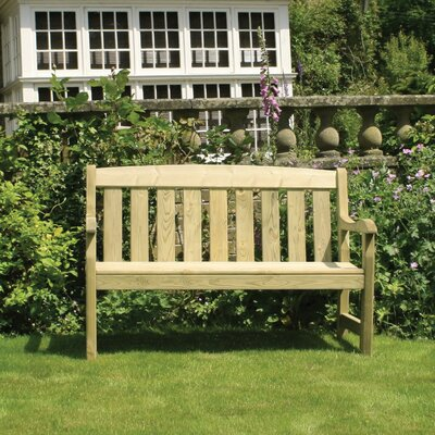 Home Etc Mangart 2 Seater Wooden Bench