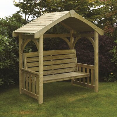 Home Etc Triglav Molten Wooden Arbour