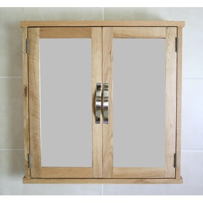 Home Etc Wheaton 60cm x 60cm Surface Mount Flat Mirror Cabinet