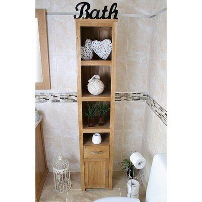 Home Etc Wheaton 35 x 180cm Free Standing Tall Bathroom Cabinet