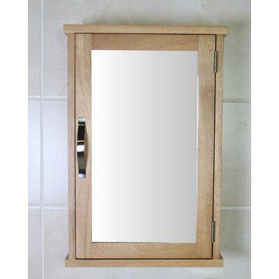 Home Etc Wheaton 40cm x 60cm Surface Mount Flat Mirror Cabinet
