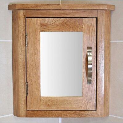 Home Etc Wheaton 30cm x 45cm Surface Mount Flat Mirror Cabinet