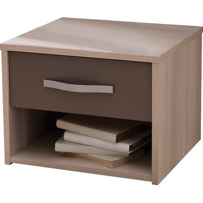 Home Etc Debno 1 Drawer Bedside Table
