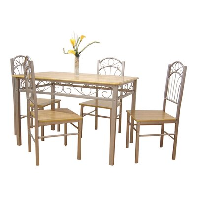 Home Etc Louis Dining Table and 4 Chairs