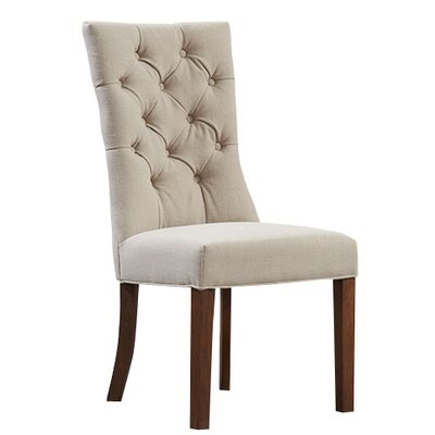 Home Etc Parrakie Solid Oak Upholstered Dining Chair