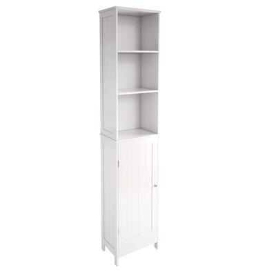 Home Etc Kyogle 34 x 163.8cm Free Standing Tall Bathroom Cabinet