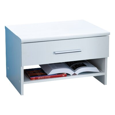 Home Etc Letschin 1 Drawer Bedside Table