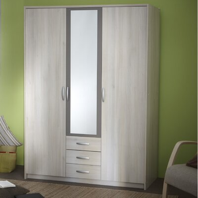 Home Etc 3 Door Wardrobe