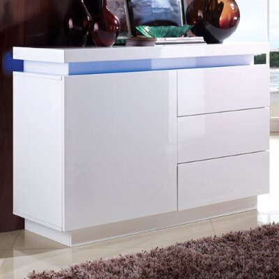 Home Etc Marino LED Low Cupboard