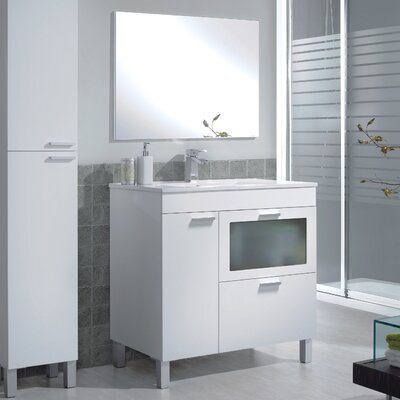 Home Etc Akm 80cm Single Vanity Set with Mirror