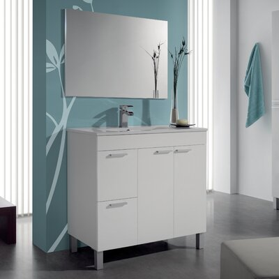 Home Etc Aktiva 80cm Single Vanity Set with Mirror