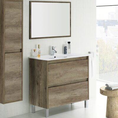 Home Etc Dakota 80cm Single Vanity Set with Mirror