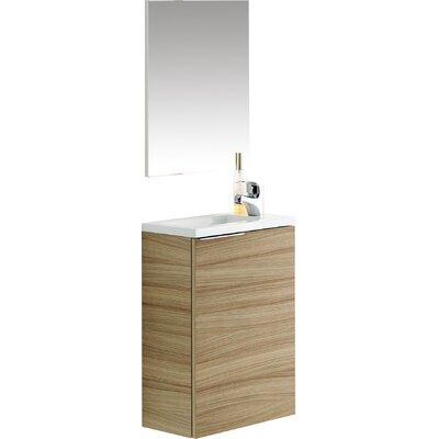 Home Etc 40cm Single Vanity Set with Mirror
