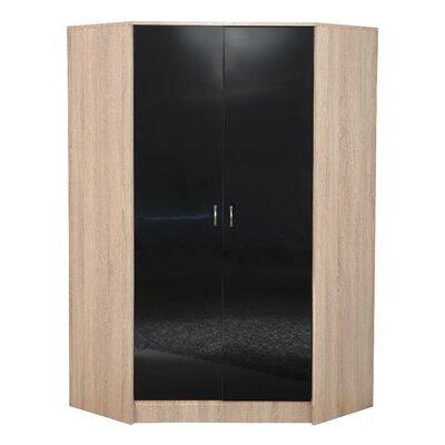 Home Etc Kaiden 2 Door Corner Wardrobe