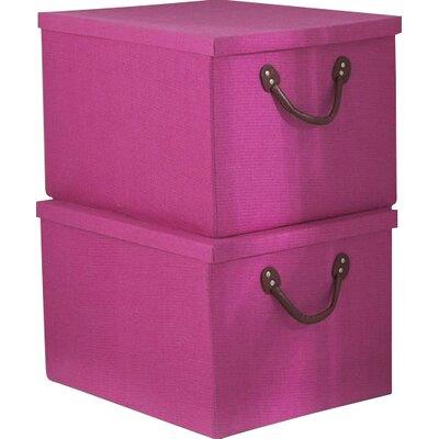 Home Etc Inishcoo Lidded Storage Boxes