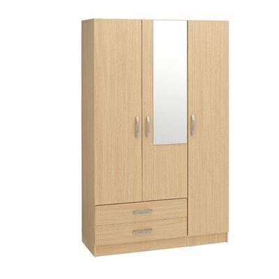 Home Etc Gaviota 3 Door Wardrobe