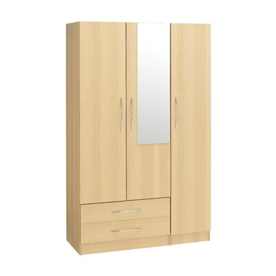 Home Etc Farren 3 Door Wardrobe