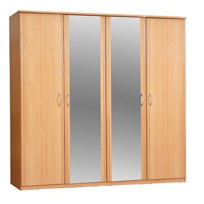 Home Etc Halcyon 4 Door Wardrobe