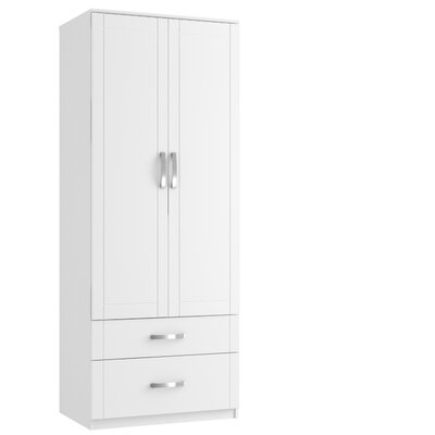 Home Etc Tall 2D Gents 2 Door Wardrobe