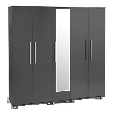 Home Etc Hondo 5 Door Wardrobe