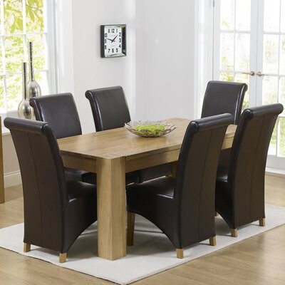 Home Etc Barrow Dining Table and 6 Chairs