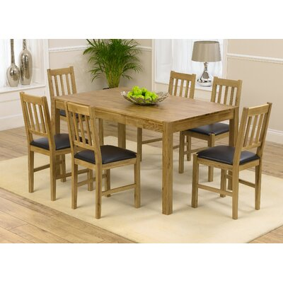 Home Etc Ponziane Dining Table and 6 Chairs