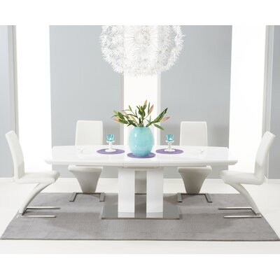 Home Etc Leipzig Extendable Dining Table and 10 Chairs