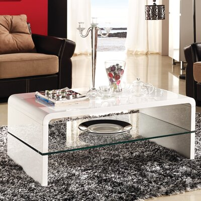 Home Etc Marino Glossy Dieu Coffee Table