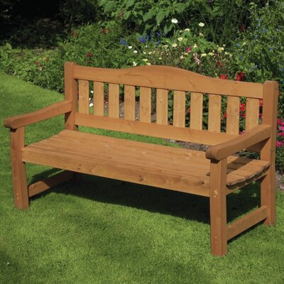 Home Etc Kanin 3 Seater Wooden Bench