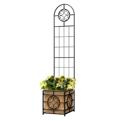 Home Etc Trellis with Planter Box