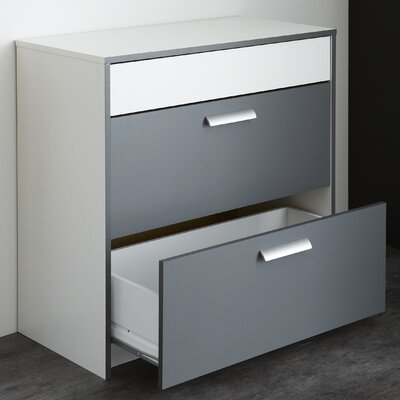 Home Etc 2 Drawer Chest of Drawers