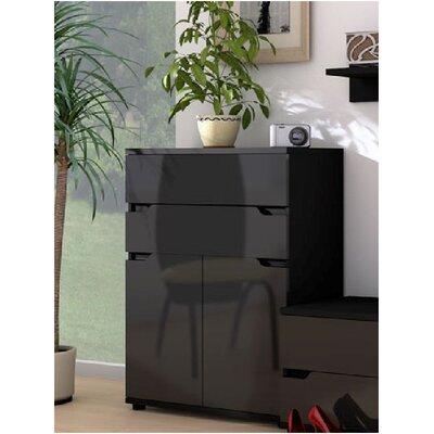 Home Etc Aspen 2 Door 2 Drawer Cabinet