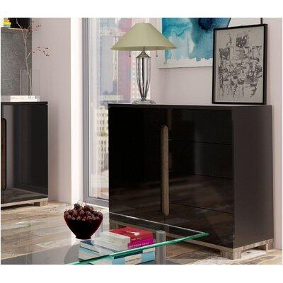 Home Etc Costa 1 Door 4 Drawer Sideboard