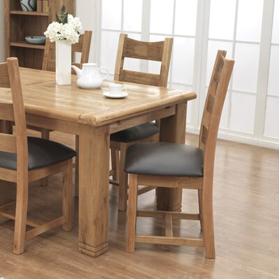 Home Etc Dawley Solid Oak Dining Chair