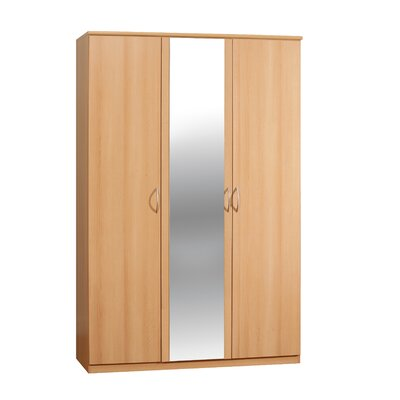 Home Etc Suey 3 Door Wardrobe
