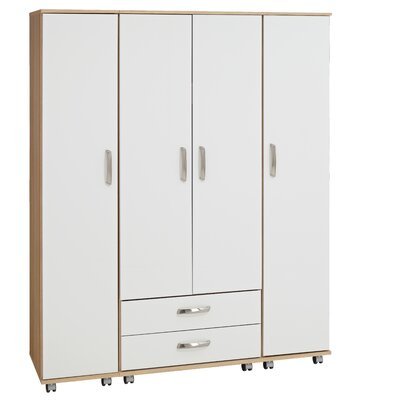 Home Etc Sevada 4 Door Wardrobe