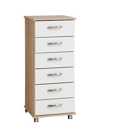 Home Etc Sevada 6 Drawer Chest of Drawers