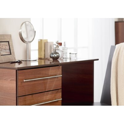 Home Etc Diosa 4 Drawer Single Dressing Table