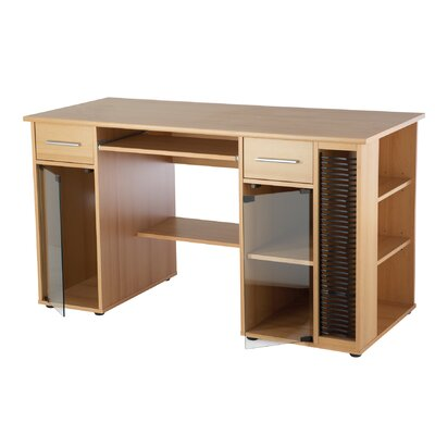Home Etc Computer Desk with Keyboard Tray