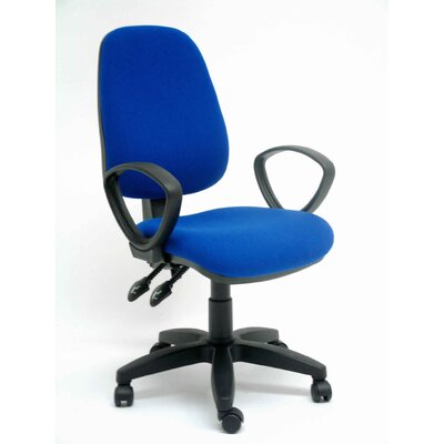 Home Etc Sara Mid-Back Executive Chair with Lumbar Support