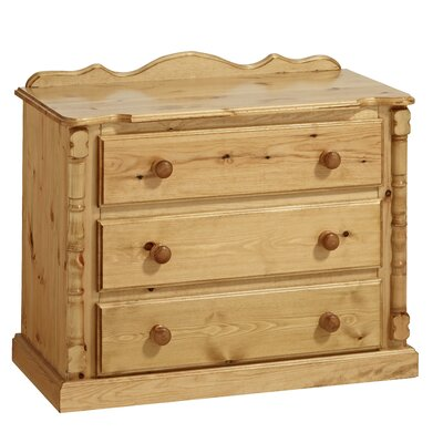 Home Etc Ecuestre 3 Drawer Chest of Drawers