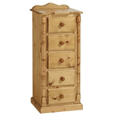Home Etc Ecuestre 5 Drawer Chest of Drawers