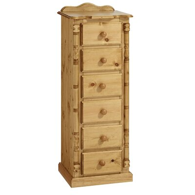 Home Etc Ecuestre 6 Drawer Chest of Drawers