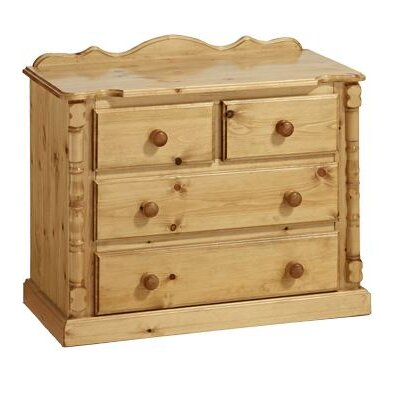 Home Etc Ecuestre 4 Drawer Chest of Drawers