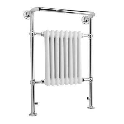 Home Etc Lancy Floor Mount Heated Towel Rail